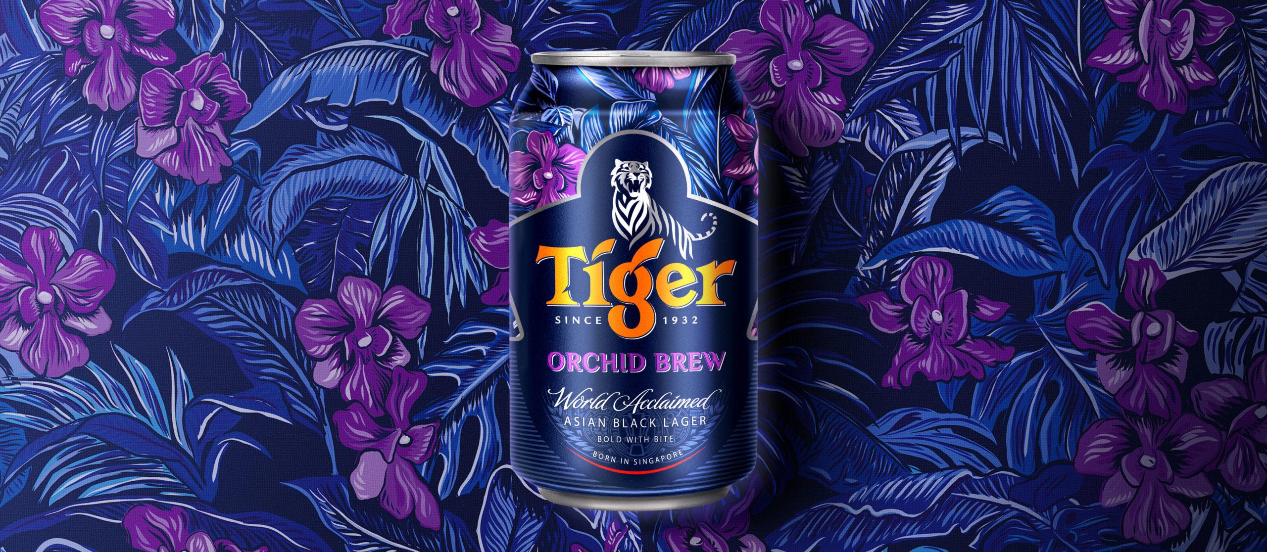 Heineken Tiger Beer Orchid Brew